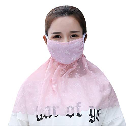 MORETIME Mujeres Partículas Desechables Antipolución Antipolvo Protección de la cubierta facial, 2020 Nueva moda Algodón Protector solar Protector facial Transpirable Anti Humo Contaminación Bicicleta