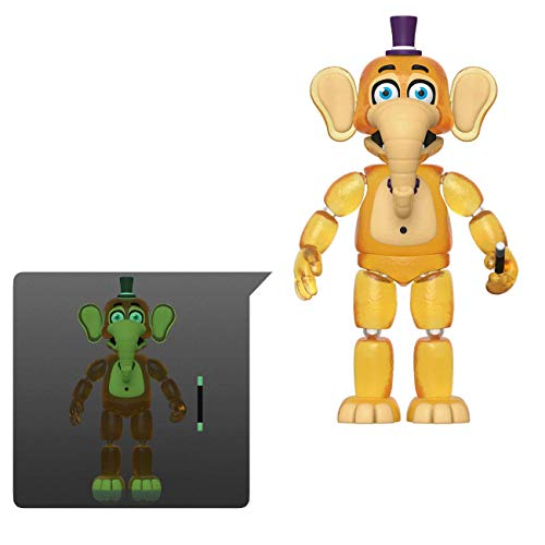 Funko 45640 Action Figure: Friday Night at Freddy's Pizza SIM- Orville Elephant - Glow in The Dark Translucent Collectible Toy, Multicolour
