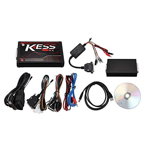 Huante KESS V2.53 V2 V5.017 Chip Tuning Tool EU versión roja herramienta de programación Kit Master Version con firmware rojo PCB