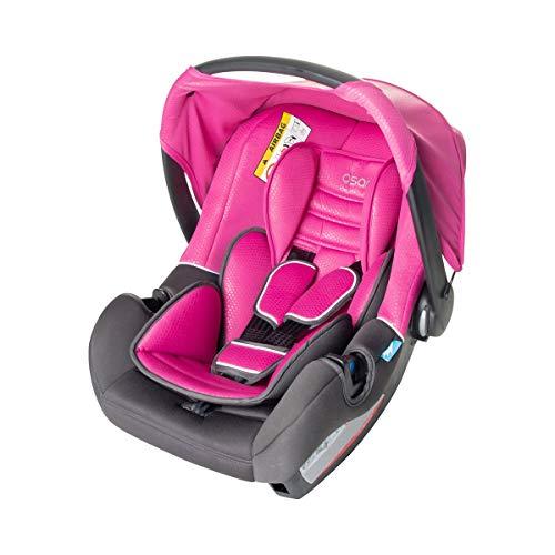 Osann 100-101-254 BeOne SP Babyautositz Reboarder Gruppe 0+ (0-13 kg) Rose