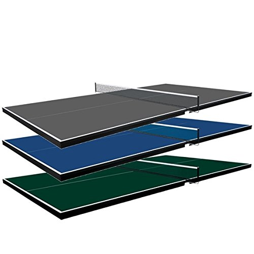 Martin Kilpatrick Ping Pong Table for Billiard Table | Conversion Table Tennis Game Table | Table Tennis Table w/ Warranty | Conversion Top for Pool Table Games | Table Top Games | Ping Pong Table Top, Grey