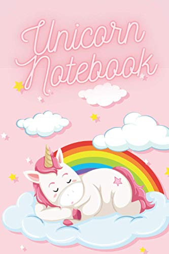 Unicorn Notebook: For Girls Ages 6-12 Diary and Notebook for Girls with Planned and Blank Pages, Perfect for Diaries, Sketches, Drawings, Notes, Great Gift for Girls.