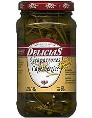 Alcaparrón Extra Fino Delicias-- Ideal Para Tapas- 370gr