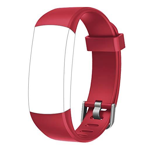 YAMAY Ersatz Armband für das SW336 Fitness Tracker (Rot)