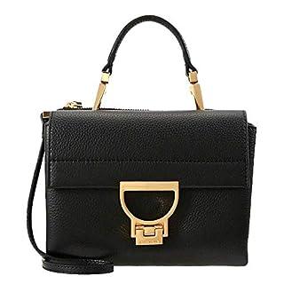Coccinelle Arlettis Handtasche aus Leder, Schwarz