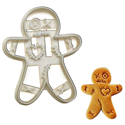 VooDoo Gingerbread Man cookie cutter, 1 piece - Bakerlogy