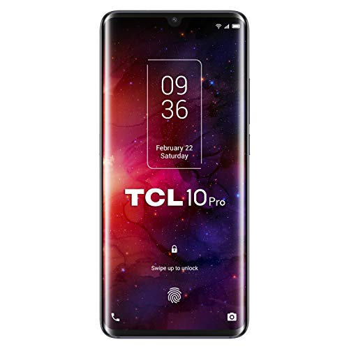 "TCL 10PRO, 6.47"" FHD+ AMOLED Curved, Quad Cam 64+16+5+2MP, 6GB+128GB, Octa Core, Ember Gray [Versione Italiana]"