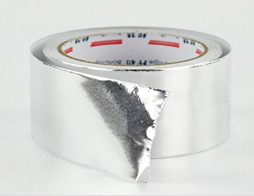 Multi-Purpose Aluminium Foil Adhesive Sealing tape for HVAC, Ducts, Insulation Heating Ventilation,Foil Sheet Roll ,Aluminum Tape / Aluminum Foil Tape, Length: 20 meter,Width: 48 mm