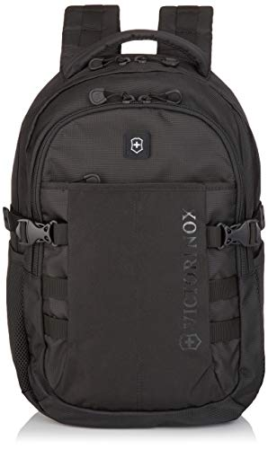 Victorinox VX Sport Cadet Laptop Backpack, Black/Black, 19-Inch