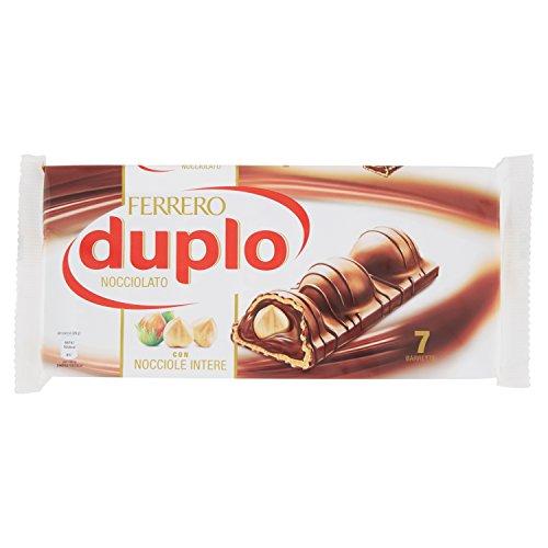 FERRERO paquet de chocolat aux noisettes Duplo 7 bars 182 grammes