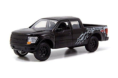 New 1:32 DISPLAY JUST TRUCKS - BLACK 2011 FORD F-150 SVT RAPTO PICKUP TRUCK Diecast Model Car By Jada Toys