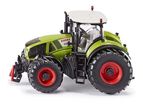 SIKU 3280, Tracteur Claas Axion 950, 1:32, Métal/Plastique, Vert, Cabine Conducteur Amovible