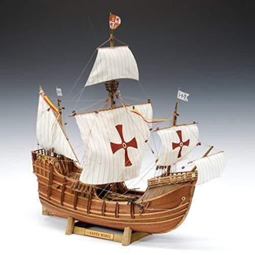 ウッディジョー 1/50 帆船 サンタマリア 木製模型 組み立てキット 4560134351660