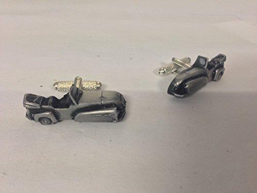 Bond-MkD-Minicar Tourer (3D Boutons de manchette Homme-Classique-Bouton De Manchette en étain effet ref34