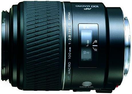 Minolta AF MACRO 100mm F2.8 (D) lens