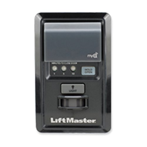 Buy Liftmaster 888LM Security+ 2.0 MyQ Wall Control Upgrades Previous Models 1998 (and later),Black