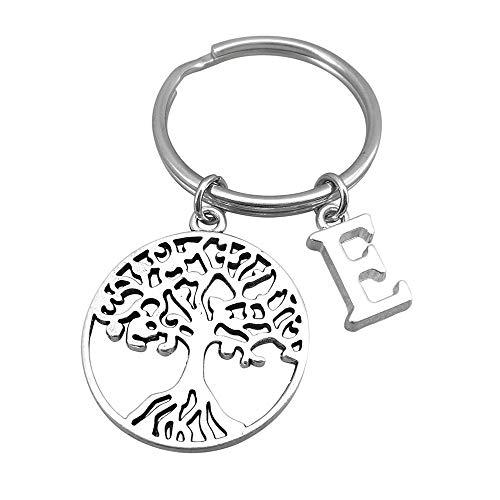 Tree of Life Keyring Key Ring Personalised