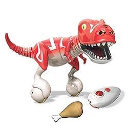 8. Spin Master Krimson Red Zoomer Dino