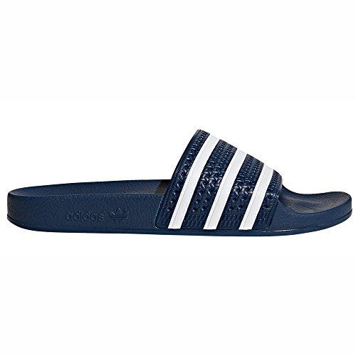 Adidas Adilette Shower, Scarpe,Infradito da Spiaggia e Piscina Uomo (44.5 EU - 10UK, ADIBLUE/White)