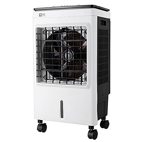 Evaporative Air Cooler, Portable Air Conditioner, 3 Fan Speeds,Portable water filling on the top, automatic wind from left and right, 30L big water tank