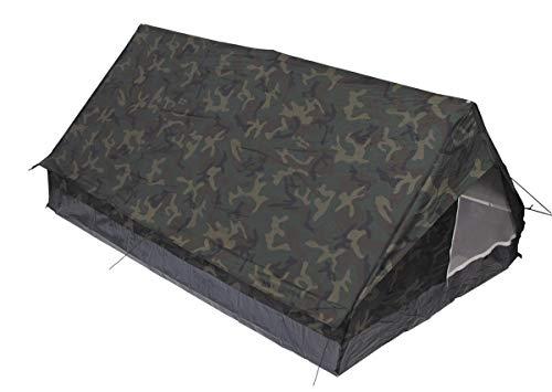 MFH Minipack BW - Tienda de campaña para 2 Personas Militar