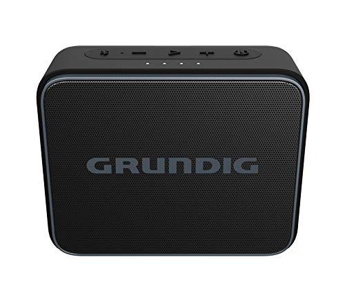 Grundig GBT Jam Black - Bluetooth Lautsprecher, 30 Meter Reichweite, mehr als 30 Std. Spielzeit