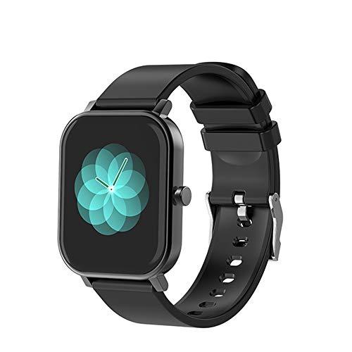LJMG Smart Watch, S10 Men, 1.69 Pulgadas, Rastreador de Fitness, IP68 Impermeable, Reloj Inteligente Mujer Smartwatch para Android iOS,E