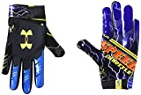 Under Armour Boys' F7 Youth Limited Edition Football Gloves , Black (002)/Taxi , Youth Large