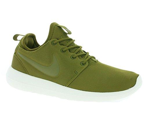 NIKE W Roshe Two Women 's Sneaker Green 844931 300, Size:38.5