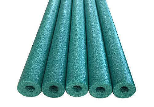 Oodles of Noodles Deluxe Foam Pool Swim Noodles - 5 Pack 52 Inch Wholesale Pricing Bulk Green
