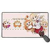 Himouto! Umaru-Chan Große Mausunterlage XXL Erweiterte Matte Schreibtischunterlage Mousepad Lange rutschfeste Gummimäuseunterlagen