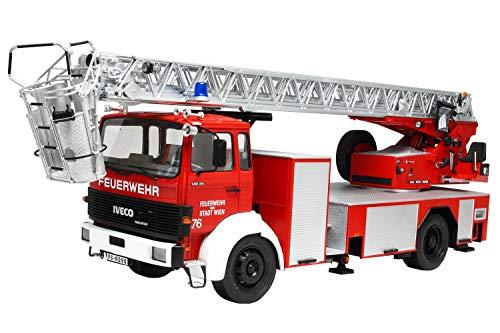 Italeri 3784 Iveco Magirus DLK26-12 Fire Ladder Truck Model Kit camion pompieri plastica Scala 1:24