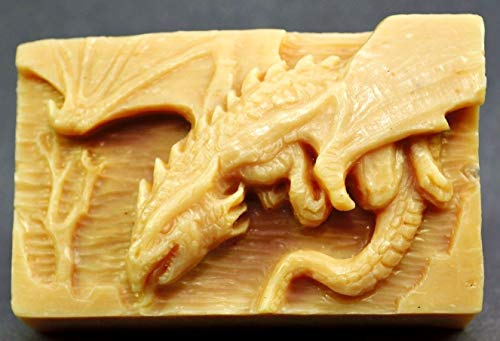 Dragon Silicone Mold SOAP Wax Plaster Resin Clay Monster