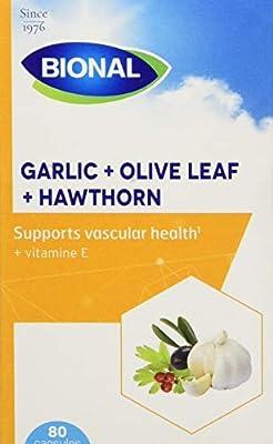 Bional Garlic, Olive and Hawthorn 80 Capsules