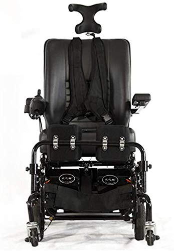 DBXOKK-Rollstühle Elektrorollstuhl Steh- und Liegerollstuhl für ältere Menschen Elektrorollstuhl für Behinderte Geländerollstuhl Rollstuhl für die Gesundheitsfürsorge im Freien
