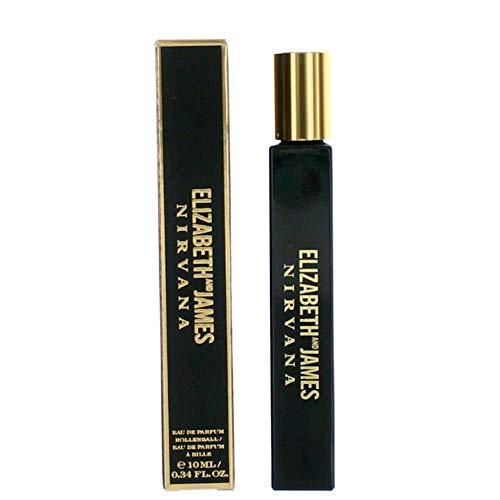 Elizabeth & James Nirvana Black Eau de Parfum Rollerball, 0.34 Ounce (0.34 Ounce Oil Perfume)