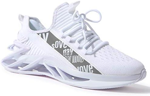 kokib Men's Running Sports Walking Shoes Mesh Lightweight Breathable Athletic Jogging Fashion Sneakers