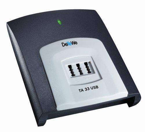 DETEWE ISDN-Terminaladapter TA 33 USB