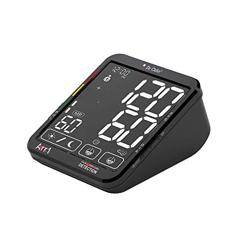 Dr. Odin Touch Screen with Smart Talking Automatic Digital BP Monitor Machine with Early Heart Problem Detection (Black)