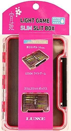 がまかつ(Gamakatsu) LUXXE 宵姫スリムスリットボックス LE504 ピンク