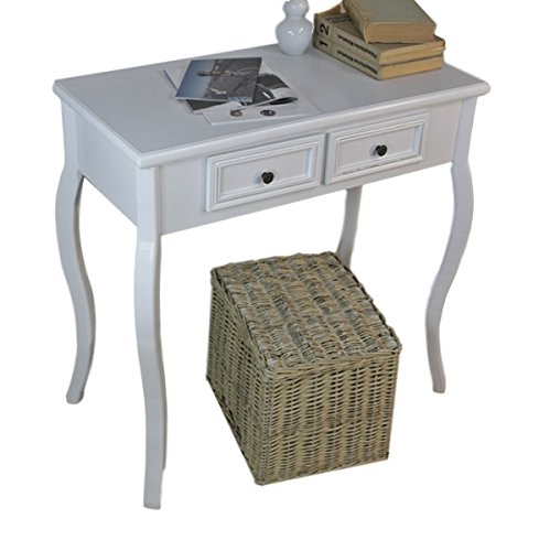 Elbmöbel consoletafel houten tafel laden wit landhuis bijzettafel antiek