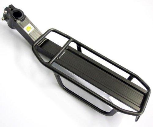 2MM-Service MHCR05 - Fahrrad gepäckträger Sattelstützgepäckträger für max 10 Kg/Komplett aus Aluminium/Befestigung an der Sattelstütze mit einem Durchmesser von 20-32mm