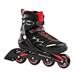 Bladerunner by Rollerblade Advantage Pro XT Men's Adult Fitness Inline Skate, Black and Red, Inline Skates, 11