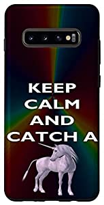 Keep Calm and Catch Unicorn, Keep Calm, Unicorn Galaxy Case