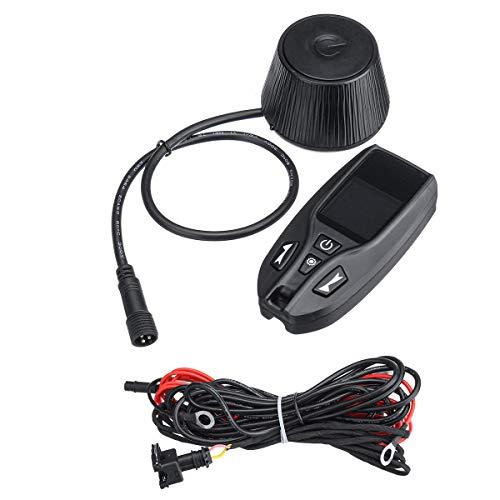 IENPAJNEPQN 12V 24V de Dos vías de Control Remoto de Coches Diesel Aire Calentador de monitorización del conmutador de Aparcamiento LCD Calentador Controlador