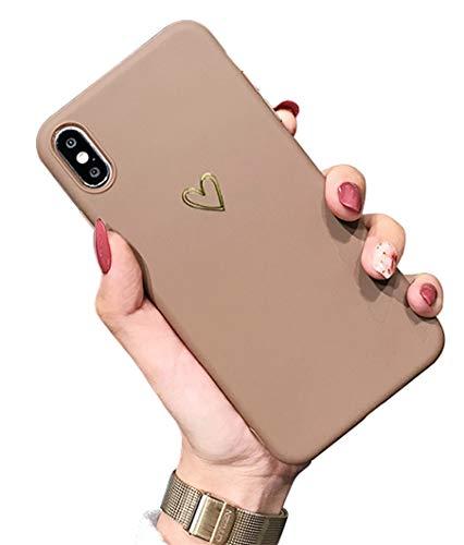 CXvwons Hülle iPhone XS, Hülle Case iPhone XS Kreatives 3D Muster Schutzhülle Ultra dünn TPU Silikon Handyhülle Bumper iPhone XS Kratzfest Schutzhülle für iPhone XS/X (2a)