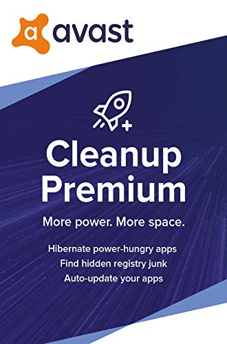 Avast Cleanup Premium 2020 | 1 PC, 1 Year [Download]