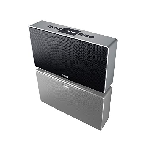 Canton 03683 Musicbox S Bluetooth Lautsprecher titan/silber