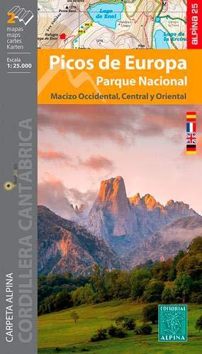 P. N. Picos de Europa 1: 25.000 (ALPINA 25 - 1/25.000)