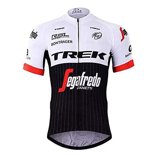 Maglia Ciclismo Uomo Manica Corta Abbigliamento Sportivo da Ciclismo Asciugatura Rapida per MTB Ciclista
